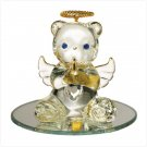 Glass Birthstone Teddy - April