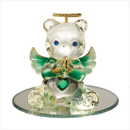 Glass Birthstone Teddy - May