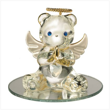 Glass Birthstone Teddy - June