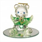 Glass Birthstone Teddy - August