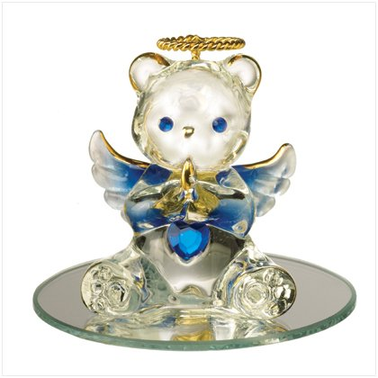 Glass Birthstone Teddy - September