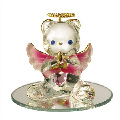 Glass Birthstone Teddy - October