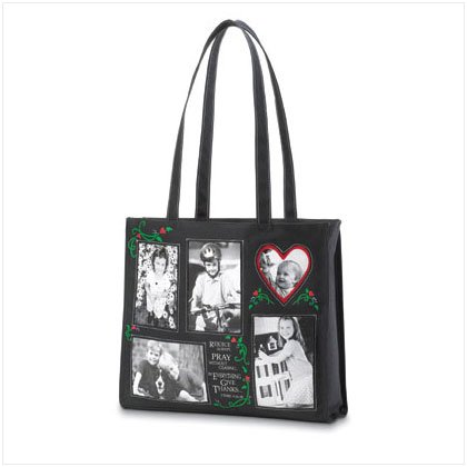'Rejoice' Photo Tote Bag