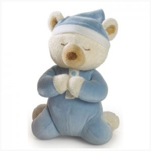 Blue Boy's Prayer Bear
