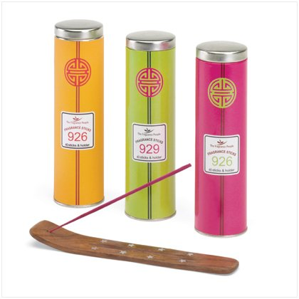 Shanghai Incense Tube Gift Set