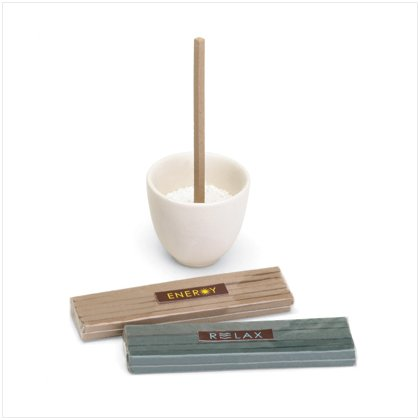 Spa Incense Gift Set with Holder