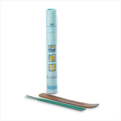 Sea Breeze Incense Tube with Holder