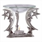 Pewter Moon & Star Oil Warmer