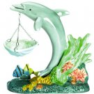 Colorful Porcelain Dolphin Oil Warmer