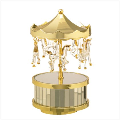 Musical Glass Carousel