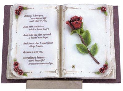 Musical Book Of Love Sculpture