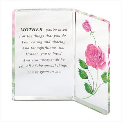Acrylic Mother Plaque