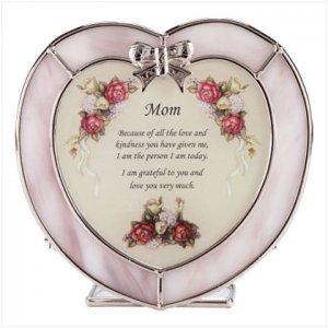 Heart Candleholder For Mom