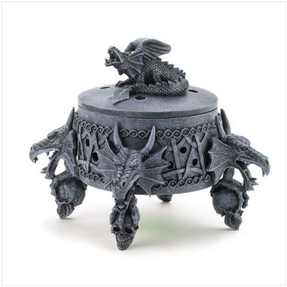 Dragon Incense Burner Box