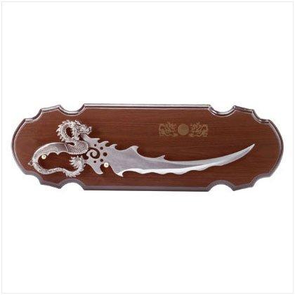 Dragon Handle Sword Plaque
