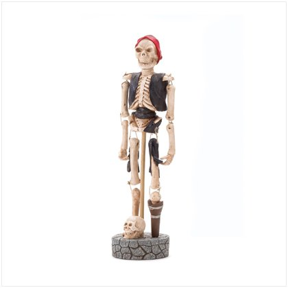 Pirate Skeleton Figurine