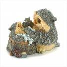 Mother & Baby Owl Bathtime Figurine