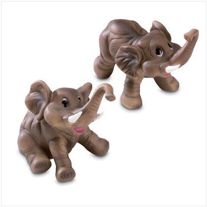 Porcelain Whimsical Elephants