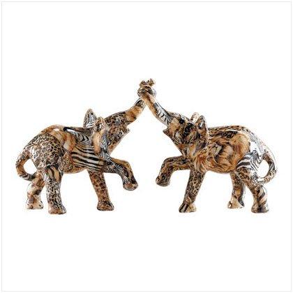 Entwined Elephant Couple