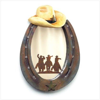 Horseshoe Wall Mirror