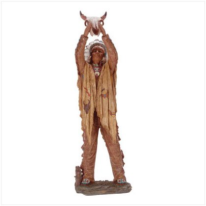 """A Prayer To The Great Spirit"" Figurine"