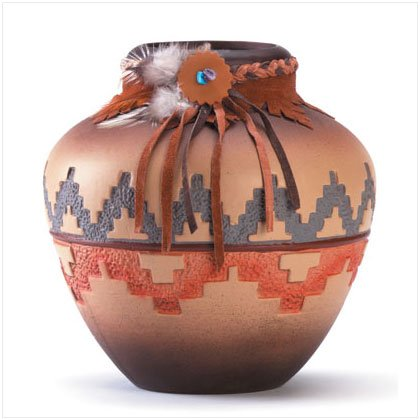 Southwestern Patterned Vase