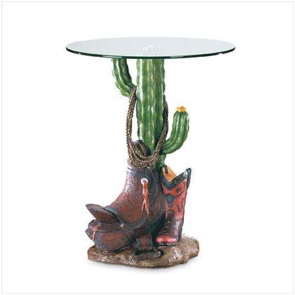 Cactus Corner  Glasstop Table