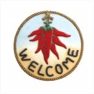 """Hot Chili """"Welcome"""" Plaque"""