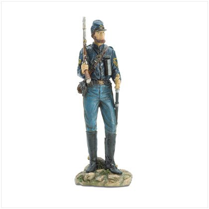 "12 1/4"" Union Soldier Figurine"