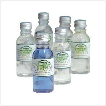 6 Pack Sensuous Massage Oil
