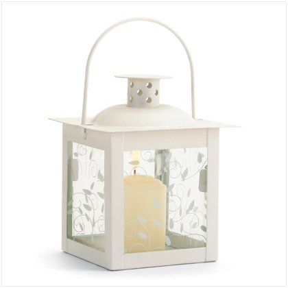 Small Ivory Lantern