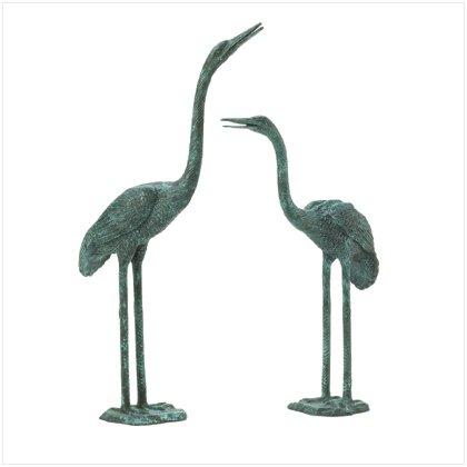 Aluminum Crane Sculptures