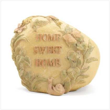 """Home Sweet Home"" Garden Stone"