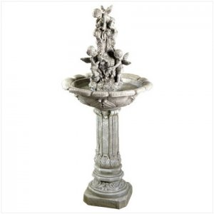 Fiberglass Playful Cherubim Fountain