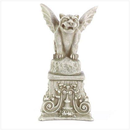 Victorian Garden Gargoyle on Pedestal
