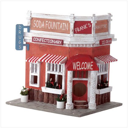 """Soda Fountain"" Birdhouse"
