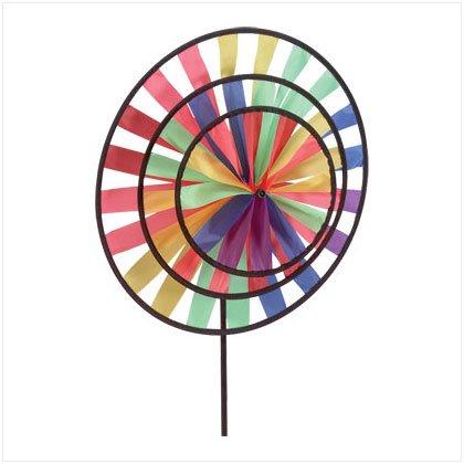 Rainbow Wind Wheel