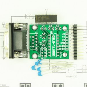 RS232 TTL Convertor, Adapter Kit MAX232 for AVR,PIC,GPS