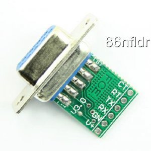 RS232 TTL Convertor/Adapter for AVR,PIC,GPS,XBOX