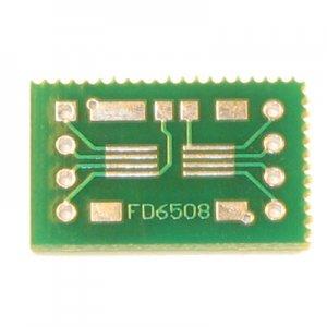 2x 8pin SSOP/TSSOP to DIP Prototype Adapter/Converter (FD6508)