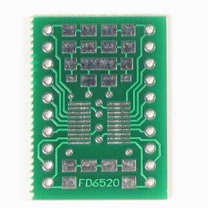 20pin SSOP/TSSOP to DIP Prototype Adapter/Converter (FD6520)