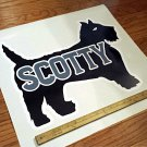 """Serro Scotty 19""""x16"""" Newer Style Decal from the 1990's"""