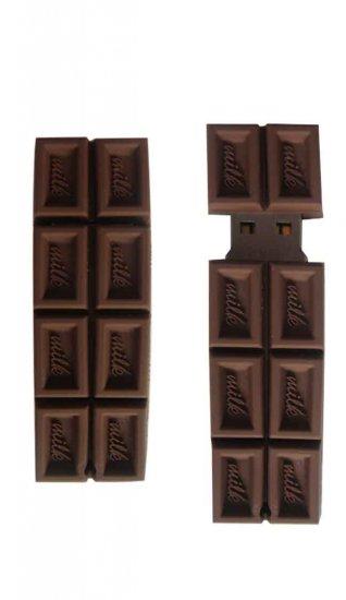 Milk Chocolate Thumb Drive