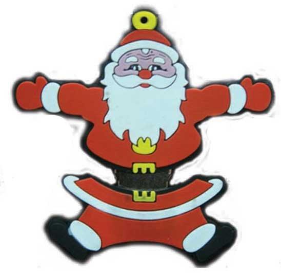 Hug Santa Claus Flash Drive