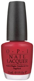 OPI Nail Polish Lacquer A QUI BIT OF RED  NLF19