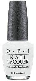 OPI Nail Polish Lacquer ALPINE SNOW  NLL00