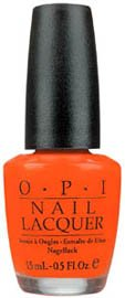OPI Nail Polish Lacquer ATOMIC ORANGE  NLB39