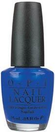 OPI Nail Polish Lacquer BLUE MY MIND NLB24