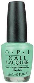 OPI Nail Polish Lacquer GO ON GREEN NLB43