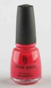 China Glaze Nail Polish PINK CHIFFON CGX034